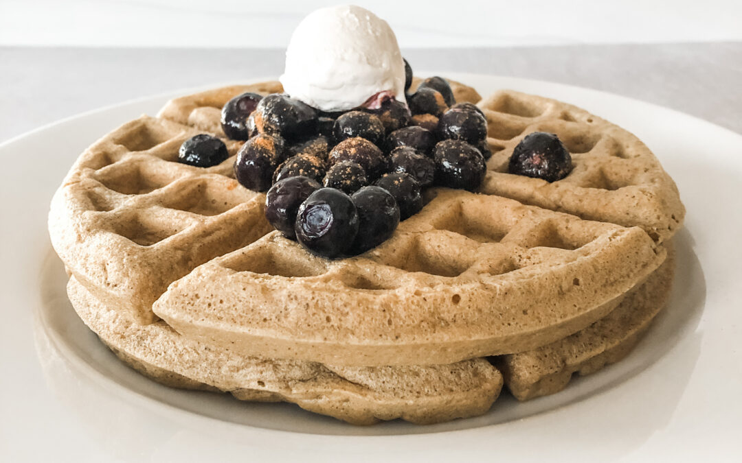 Intentional Lifestyle Cashew Waffles